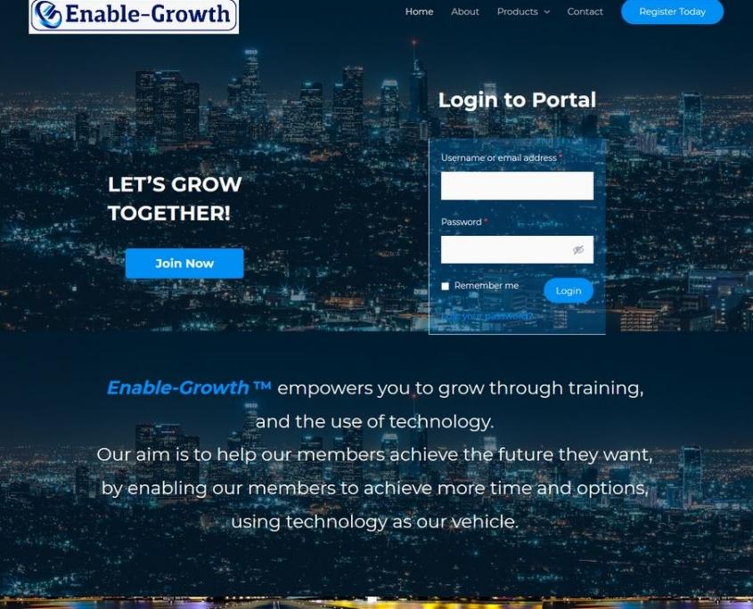 Login Portal - Website Designer London