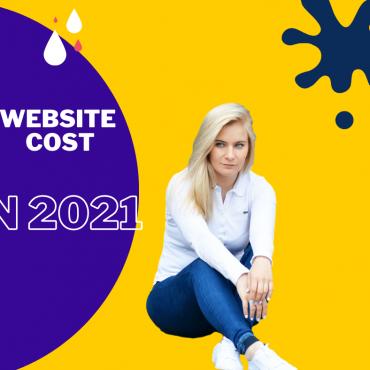 WEBSITE COST IN 2021
